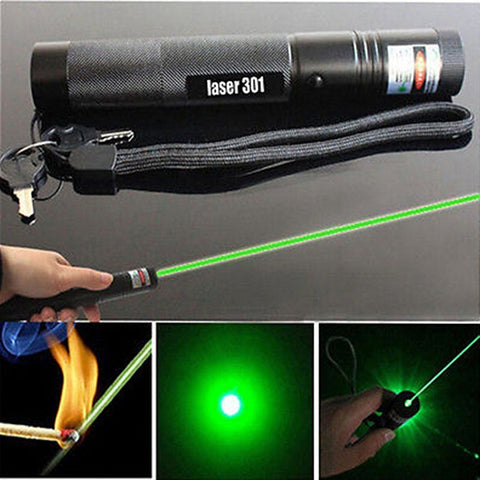 Professional 10 miles Military Green Laser Pointer Pen Powerful Light Visible Beam Burning 5mw 532nm