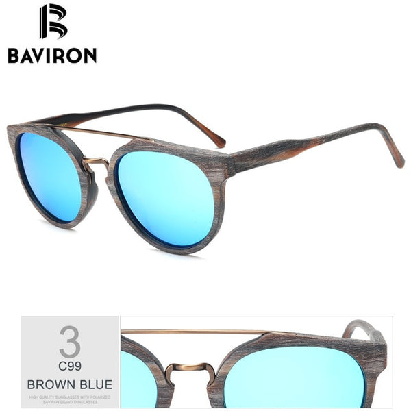 Wooden Sunglasses Retro Trend (Ref5344)