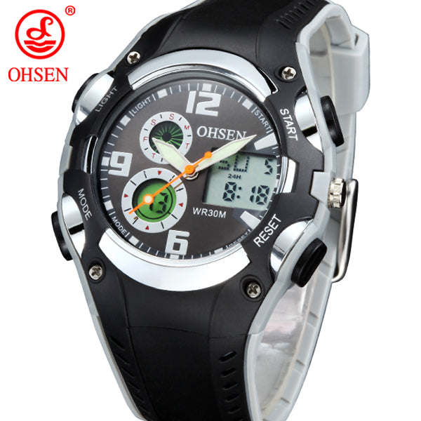 OHSEN Fashion Brand Childrens Digital Wristwatch (REF1104)