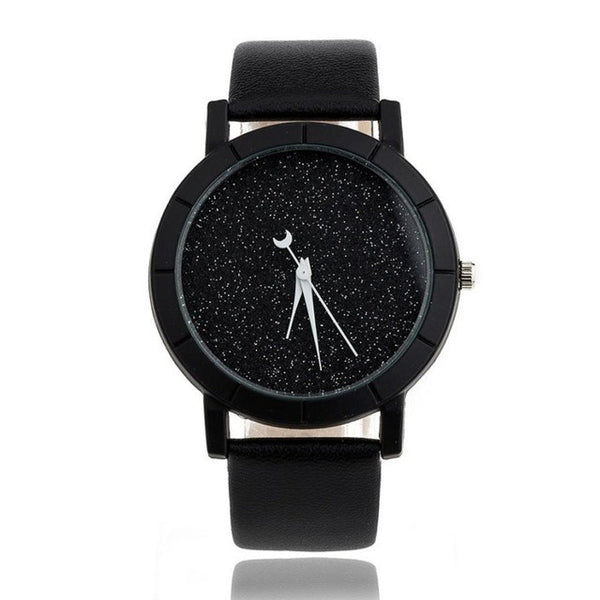 Women/ Men Quartz-watch PU Leather Simply Desgin Wristwatch (REF5175)