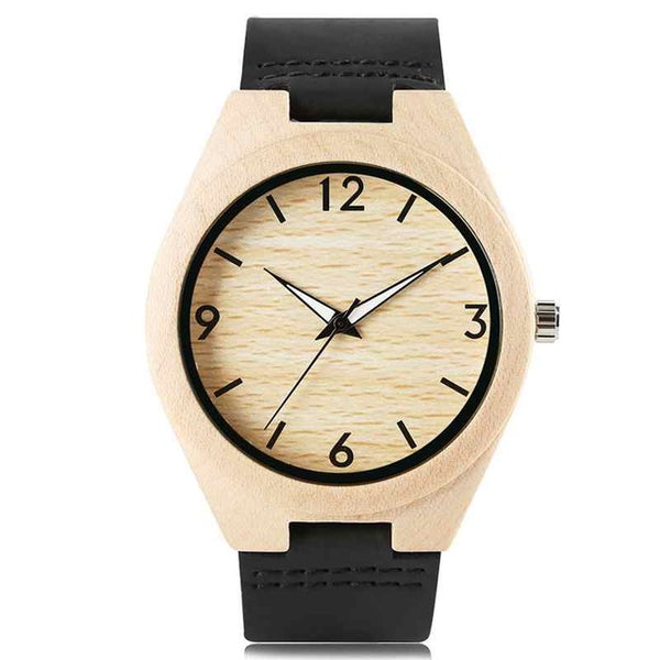 Creative Full Natural Wood Mens Wristwatch (REF1065)