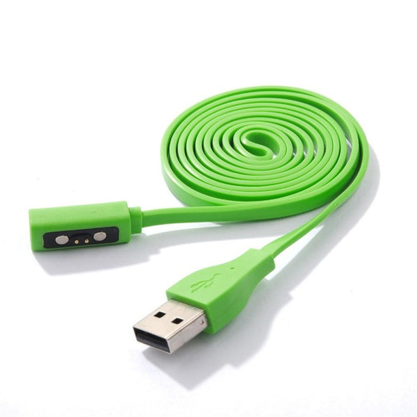 7 Colors Smart Watch USB Charger Charging  Cable for Pebble Time (REF7104)