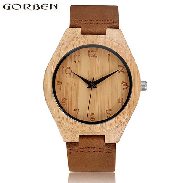 Bamboo Wooden Watch For Men/Women (REF1011)