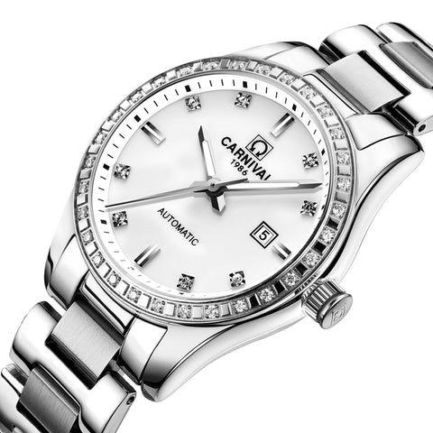Swiss Carnival Womens Automatic Luxury Wristwatch(Ref5304)