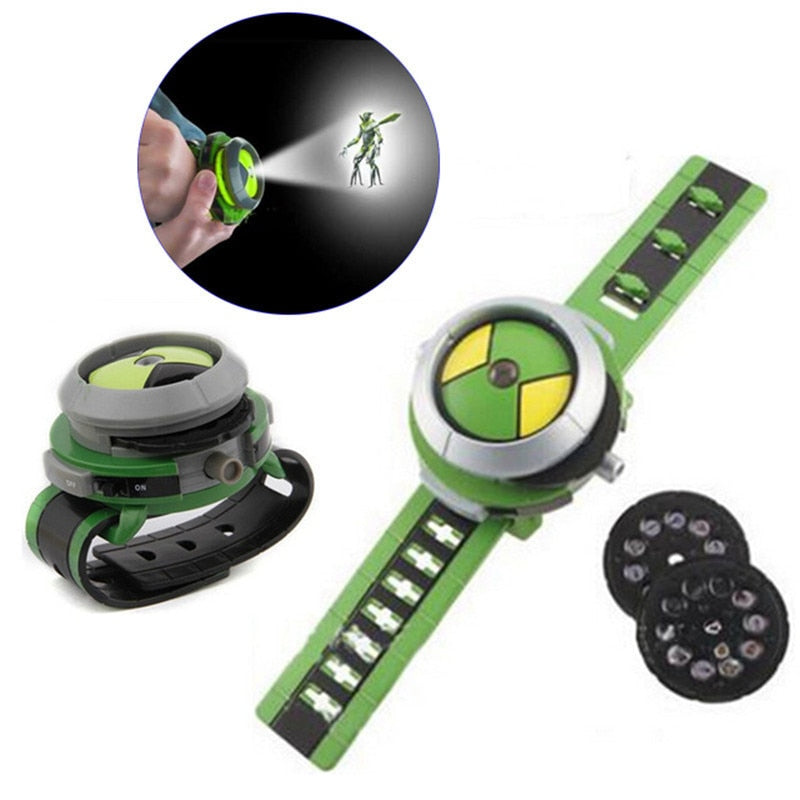 Ben 10 Omnitrix Watch Style Kids Projector Watch (REF1014)