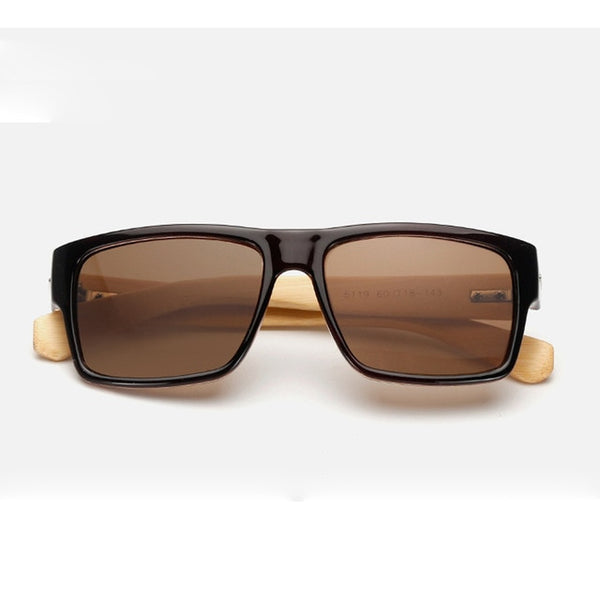 Evrfelan Mens Sunglasses Wooden Legs High Quality (REF1169)