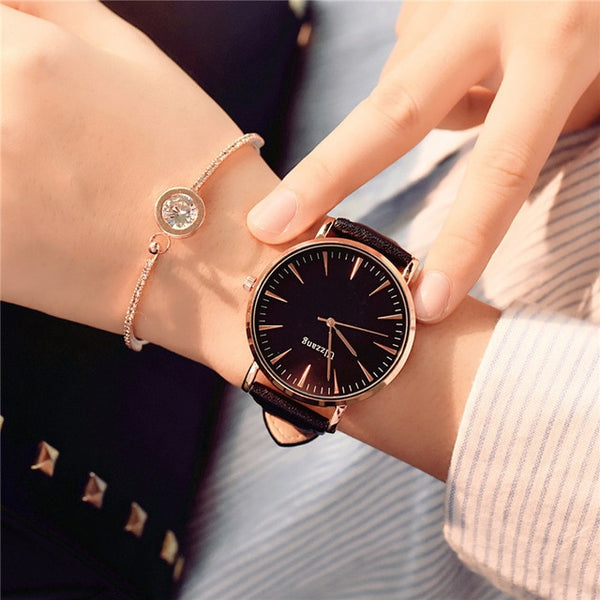 Exquisite Simple Style Women Wristwatch (REF1074)