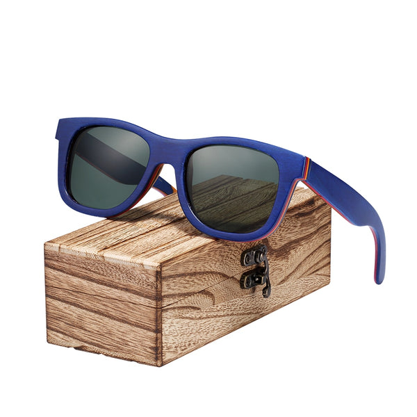 BARCUR Skateboard Wood Sunglasses (Ref5343)