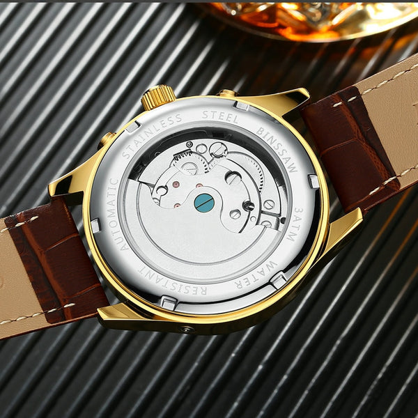 BINSSAW Mens Automatic Fashion Wristwatch