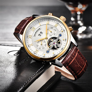 BINSSAW Mens Automatic Fashion Wristwatch (REF1165)