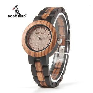 BOBO BIRD N30 Ladies Wooden Luxury Wristwatch (REF1032)
