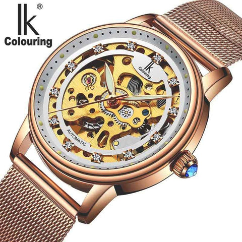 Luxury Brand Fashion Casual Ladies automatic mechanical Wristwatch (REF2530)