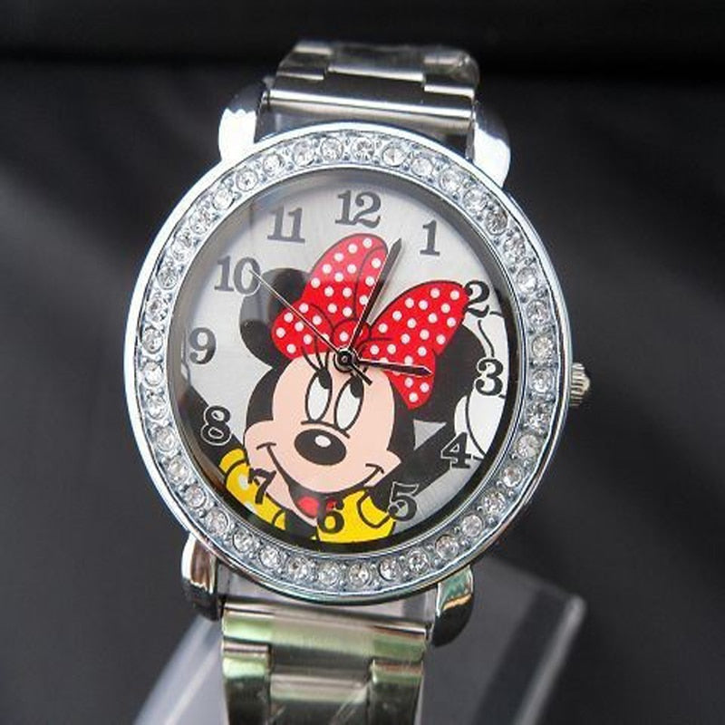 Womens Quartz Minnie Mouse Wristwatch (REF1158)