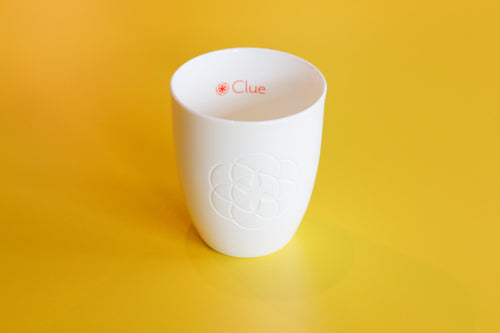 Clue coffee cup