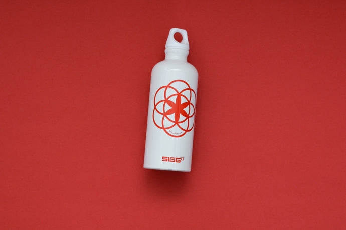 Clue water bottle