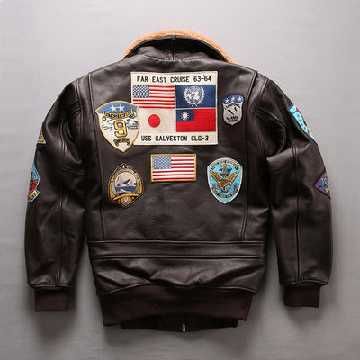 A2 Pilot Jacket Tom Cruise Top Gun Air Force - Maherleather