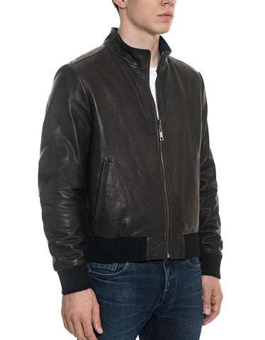 Black Leather Jacket - Maherleather