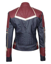 Captain Marvel leather Jacket - Maherleather