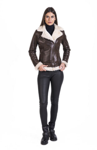 Maher Leather B 3 Bomber Classic biker Leather Jacket - Maherleather