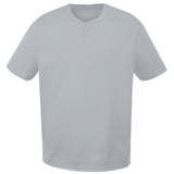 4001 Two-Button Performance Baseball Jersey YOUTH