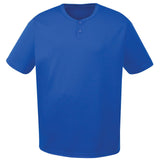 4001 Two-Button Performance Baseball Jersey ADULT