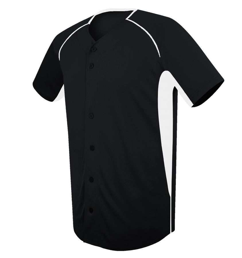4004 Full-Button Elite Baseball Jersey ADULT