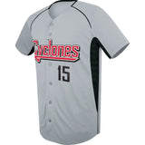 4004 Full-Button Elite Baseball Jersey YOUTH