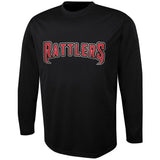 4009 Performance Long Sleeve Baseball Tee Shirt YOUTH