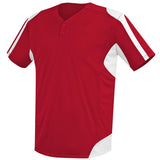 4010 Two Button MVP Performance Baseball Jersey ADULT