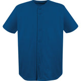 4011 Full Button Stadium Performance Baseball Jersey ADULT