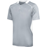 4019 Two-Button Rival Performance Baseball Jersey ADULT