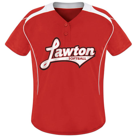4404 Dawson Softball Jersey GIRLS'