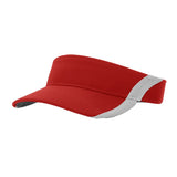 4314 Dryve Color Split Softball Visor