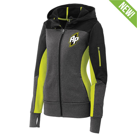 9362 Atlas Full-Zip Performance Hoodie WOMEN'S