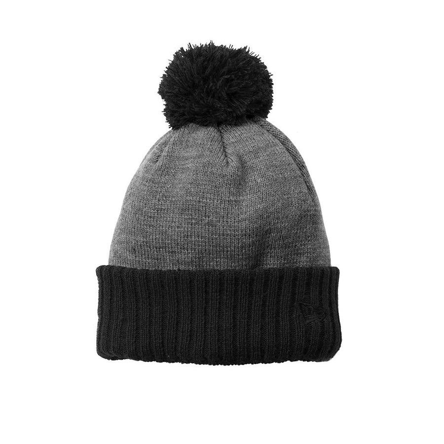 9370 Bolt Colorblock Cuff Beanie