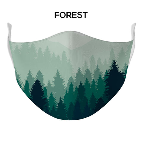 Forest Face Mask - DYE/SUB