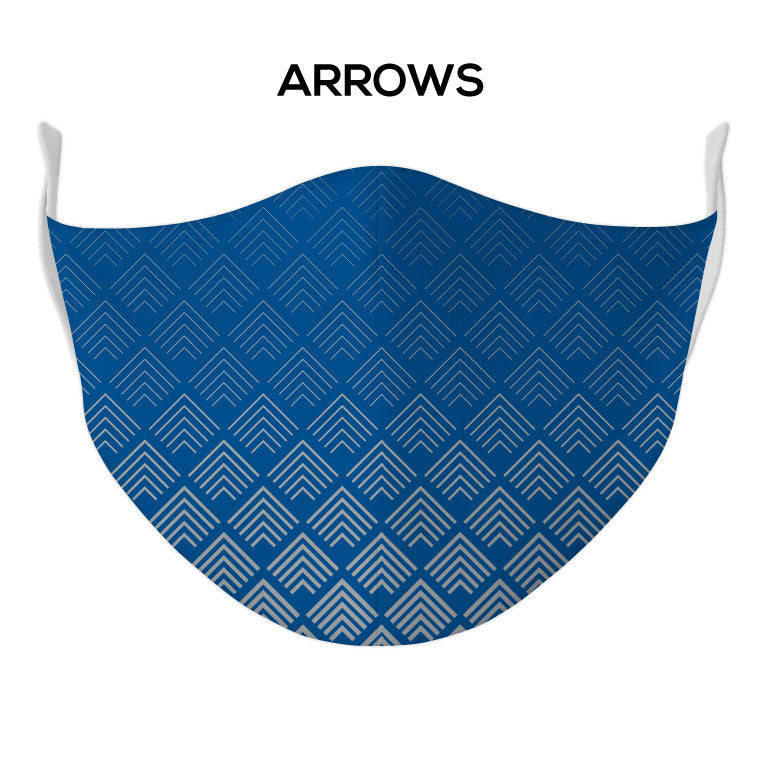 Arrows Face Mask - DYE/SUB