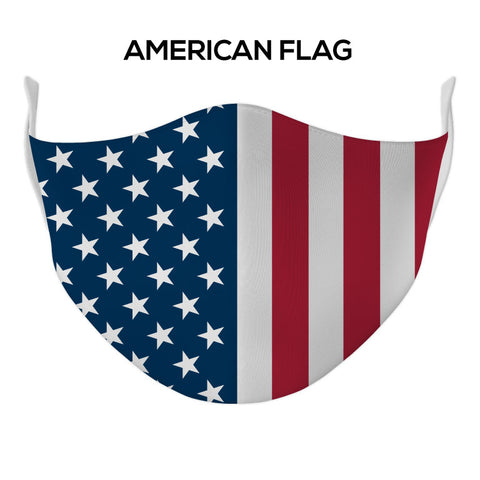 American Flag Face Mask - DYE/SUB