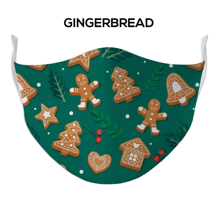 Gingerbread Face Mask - DYE/SUB