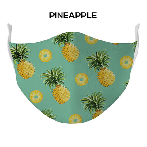 Pineapple Face Mask - DYE/SUB