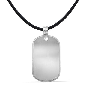 Engravable Dog Tag Pendant