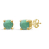 1/5 Carat T.W. Gemstone Sterling Silver Stud Earrings - Assorted Colors