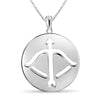 Zodiac Pendant in Sterling Silver- Assorted Styles