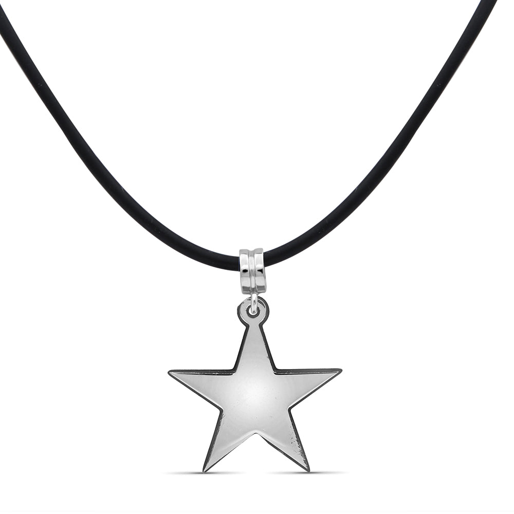 Engravable Name Star Pendant