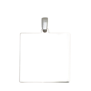 Square Shaped Custom Pendant