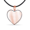 Heart Shaped Sterling Silver Pendant