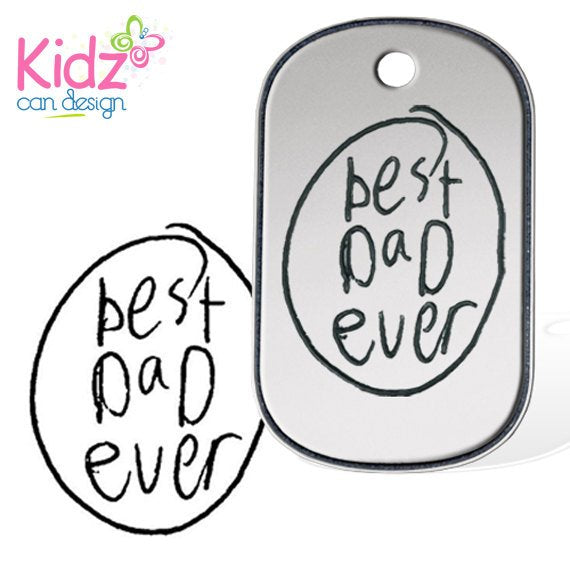 Build a Dog Tag Sterling Silver