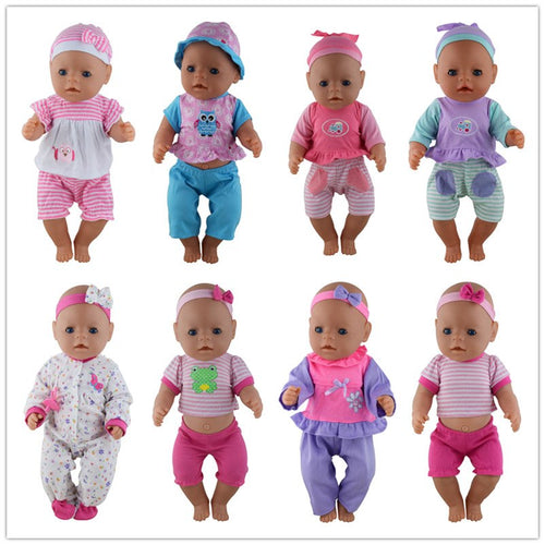 Doll Clothes 43cm Baby Born Zapf Accessories