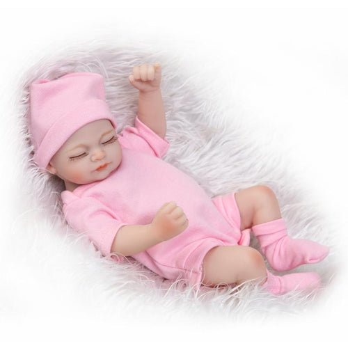"11"" Premature Infant Realistic Silicone Doll"