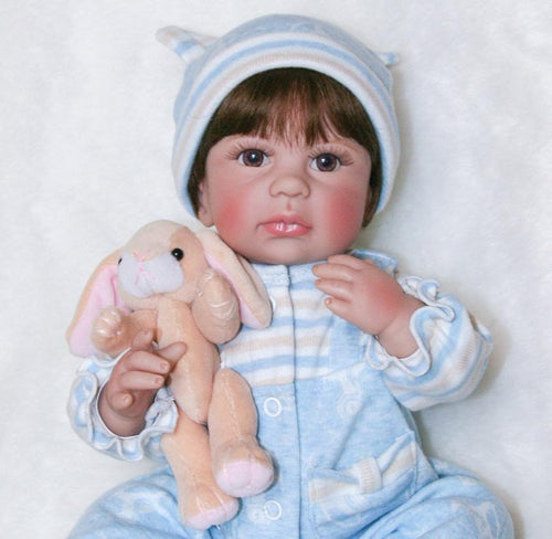 Real Silicone Baby Doll with Hazel Eyes